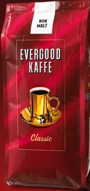 Evergood kaffe pris